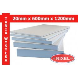 Płyta budowlana WIM PLATTE 20x600x1200 xps