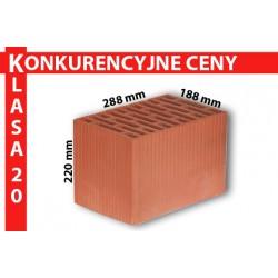 Pustak ceramiczny MAX 288 x 188 x 220 mm