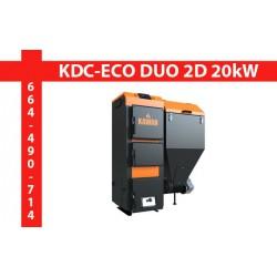 Kocioł KAWAH KDC ECO DUO 2D 20kW transport GRATIS! kielce hurtownia materiałów budowlanych