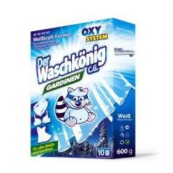 Der Waschkoning Gardinen proszek do prania białej bielizny i firan 600g
