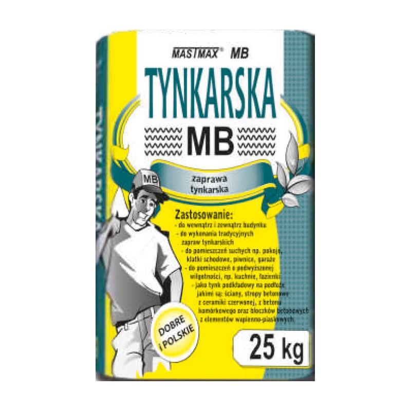 ZAPRAWA TYNKARSKA MASTMAX MB 25kg transport HDS