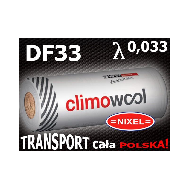 WEŁNA MINERALNA CLIMOWOOL DF33 0,033 50 mm