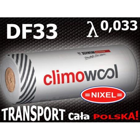 WEŁNA MINERALNA CLIMOWOOL DF33 0,033 100 mm