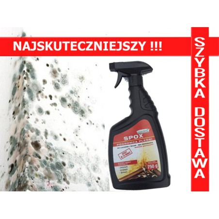 SPOX Środek grzybobójczy na grzyba i pleśń 750ml NAJSKUTECZNIEJSZY !