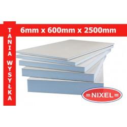 Płyta budowlana WIM PLATTE 6x600x2500 xps