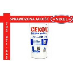 Koncentrat gruntu CEKOL DL-K do 6L GRUNT NIXEL kielce hurtownia materiałów buowlanych