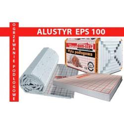 ALUSTYR EPS 100 Płyta izolacyjne pod ogrzewanie podłogowe NIXEL Kielce hurtownia materiałów budowlanych