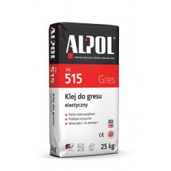 ALPOL AK515 klej do  gres elastyczny 25kg