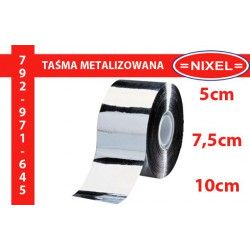 Taśma metalizowana 5 / 7,5 / 10 cm