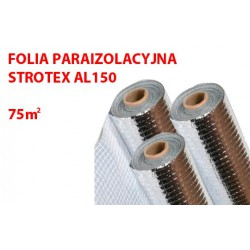 FOLIA PAROIZOLACYJNA ALUMINIOWA STROTEX AL 150