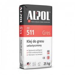 ALPOL AK 511 klej do gresu uelastyczniony 25kg