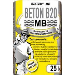 BETON B20 MASTMAX MB 25kg transport HDS