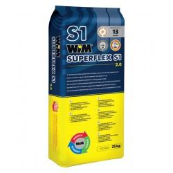 Wysoko elastyczny klej WIM super flex s1 25kg