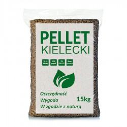 Pellet Kielecki 100% sosna w workach po 15 kg