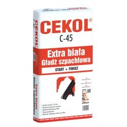 CEKOL C-45 GOLD START+FINISZ GŁADŹ SYPKA