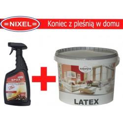 SPOX Środek grzybobójczy + Farba Lateksowa 5L